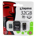 Memory Card Micro SD 32GB with SD and USB adapter