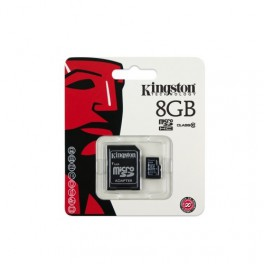Memory Card Micro SD 8GB with SD adapter
